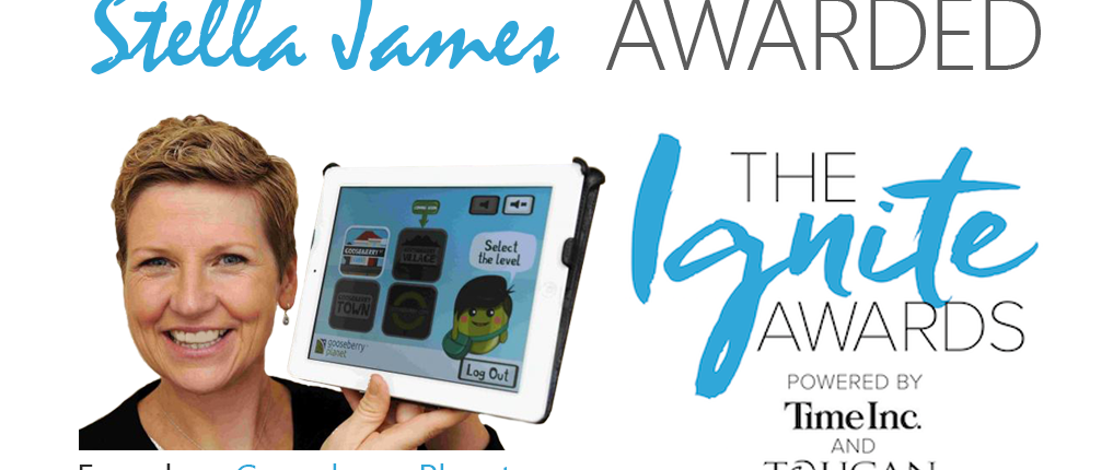 Stella James Wins The Ignite Awards Powered by Time Inc and Toucan