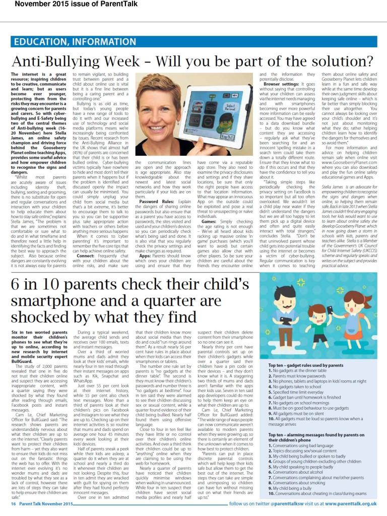 AntiBullyingWeek---Gooseberry-Planet-Featured-in-ParentTalk_Nov15