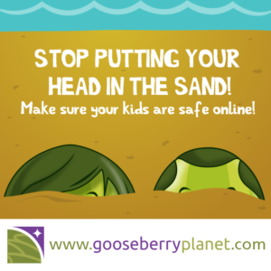 Parents: don't put your head in the sand about online safety